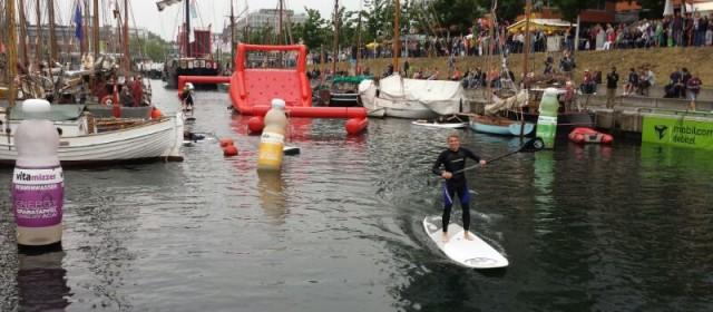 SUPstacle auf der Kieler Woche