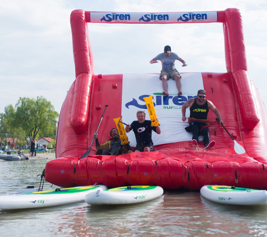 SUPstacle war beim Surf Worldcup Podersdorf