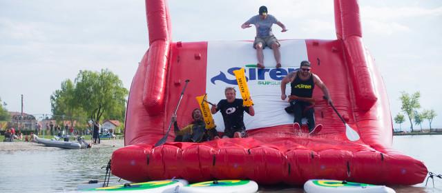 SUPstacle war beim Surf Worldcup Podersdorf